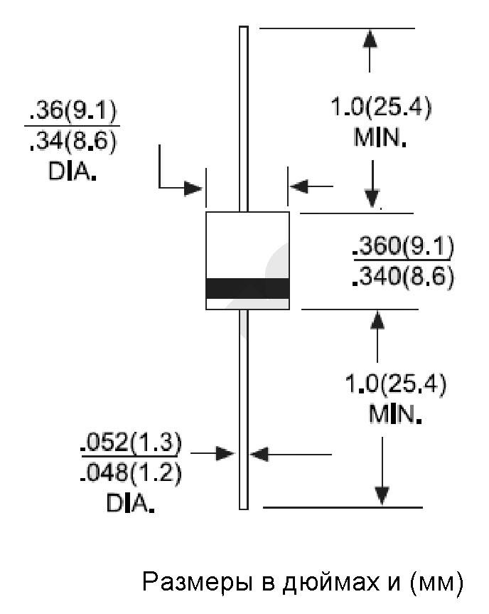 Диоды выпрямительные 10A05 -